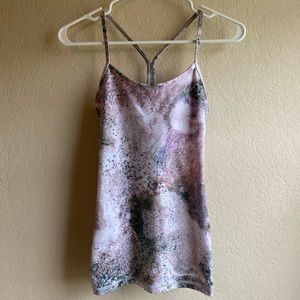 Lululemon Abstract Print Tank Top